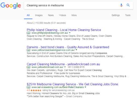 cleaning services ss
