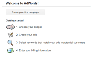 welcome to adwords