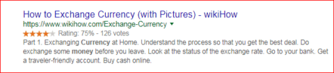 how to exchange currency