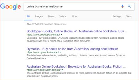 online bookstore melbourne