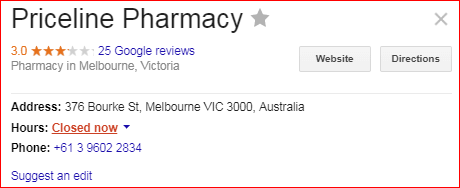 priceline pharmacy image
